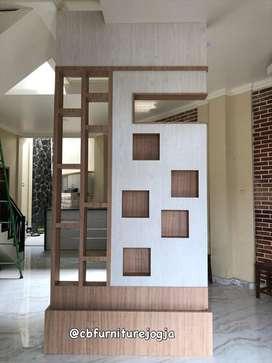 Penyekatt Ruangan ,  Model Simple , Custom design ,