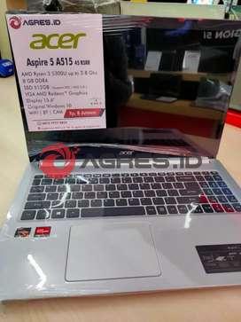 Jual Acer Aspire 5 A515 45 R3RR Terbaik| 512 SSD| RAM 8| W10+OHS2019