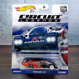 Hot wheels Hotwheels Porsche 962 Circuit Legends Tampo Advan