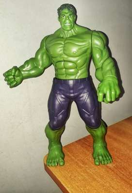 Green And Purple Action Figure toy HULK