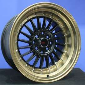 jual velg type SC-01 1120 HSR Ring.16 Lebar.8-9 PCD.4X100-4X114,3 ET.3