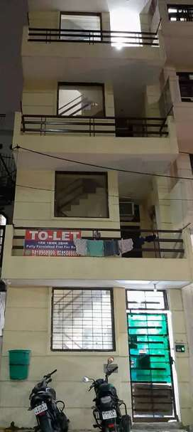 1bhk 2 room 2ac 2 almerah furnished flat for rent in s block newly