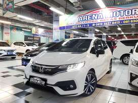 Honda Jazz 1.5 RS CVT 2019 Full Plastikan Km 20 rb Barang Like New