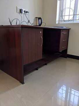 Sturdy wooden home/office table for sale