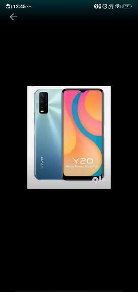 Vivo y20g hega 4gb ram 64gb 1week use only