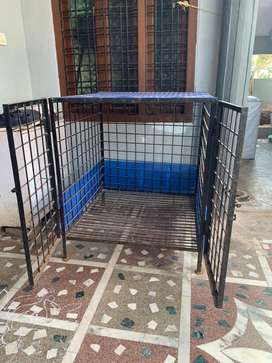 Dog cage for puppy and adult