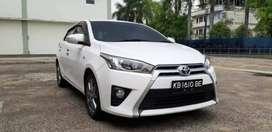Dijual Toyota YARIS G Manual 2014 Putih Mulus sangat Terawat