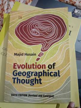 Majid Hussain Geographical Thoughts