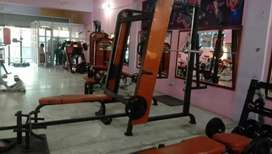 All types of gym and fitness equipment