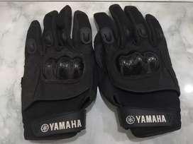 Sarung tangan yamaha ukuran Xl