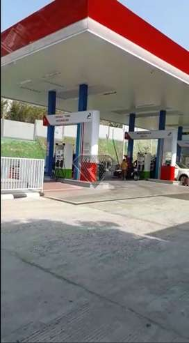 Dijual SPBU di Ciater Subang Sedang Beroperasi dan Produktif