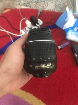 Nikon afs 18 55 vr