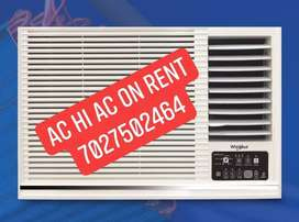 Air conditioning on rent in Gurgaon windows and split AC all brands
