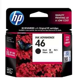 HP 46 Ink Cartridge (Black+tri color)