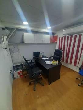 1 cabin,3 sheet,Reception, Furnished office, sec-3,Near Sec-16,Metro