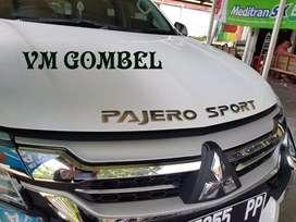 Minggu Buka Sale Tulisan Pajero Sport  Krome Sport Krom