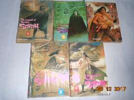 THE LEGEND OF MOTHER sarah.1-5 taamat Komik Langka