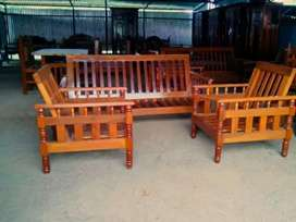 Sofa and divan cots ready to work