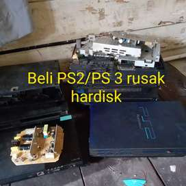 Beli PS2/ PS 3 rusak