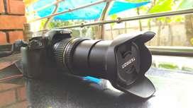 Canon 1100 D & tamron 18-270 lens