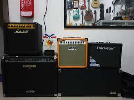 Ampli Gitar Oranye Custom