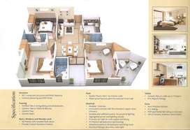3 BHK flat for sale in near by Mansarover metro station