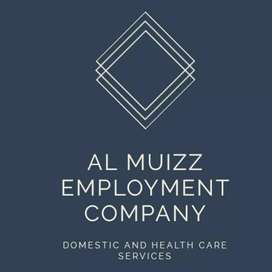 For Maid/Babbysitter,Patient attendance,Cook,House & Office staff call