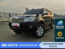 [OLX Autos] Toyota Fortuner G at tahun2008 low km #Shava