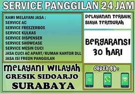 Service Kulkas Ac Mesin Cuci all merk di JL Warugunung Surabaya