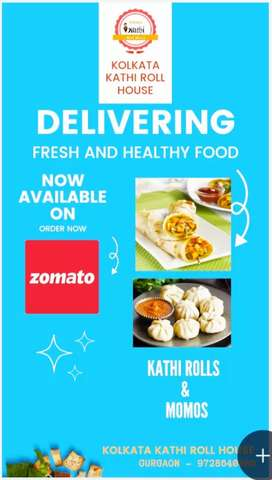 I want to sell my running kathi roll shop with full set up.