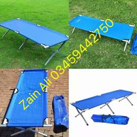 Folding Beds Available For Outdoor Campaign
