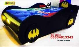 Batman Kids Single Car Bed for Boys New Style Beds Sale