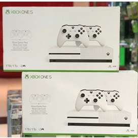 Xbox one s with games 1 year warranty best deal