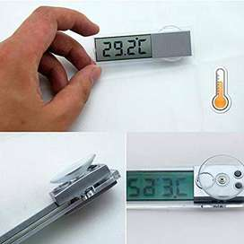 New LCD Digital Thermometer Car Windshield Rear View