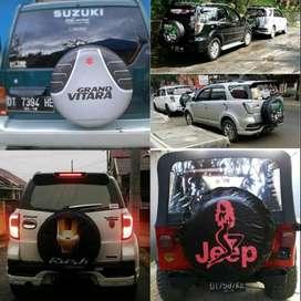 Cover/Sarung Ban Jeep/Rush/Terios/Touring/Ecosport/Dsb Jelas Mewah mer