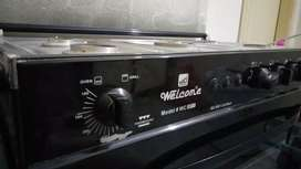 Nearly a month used cooking range, for sale
