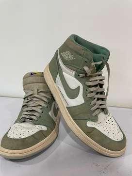 Nike air jordan 1 Hi Retro Turbo Green size 44