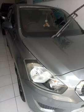 Datsun go+ panca 2014 abu2 metalik
