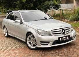Dijual mercy C250 tahun 2013 low km body like new super mulus dan apik