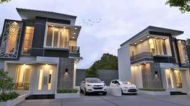 Rumah villa 2 lantai dekat Alun Alun Batu
