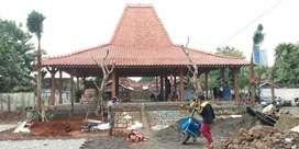 Jual Produksi Rumah  joglo Ukir dan Pendopo Sokoguru 20cm