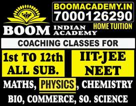 Job for Teacher for coaching and home tuition for all .sub