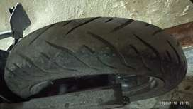 Mrf tyres for bike.