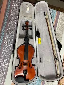 KAPS Violin Brand New for Sale with tuner, rosin, case, extra strings