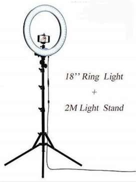 "Simpex 18"" Ring Light with Tripod YouTube Tiktok Shooting Photo Video"