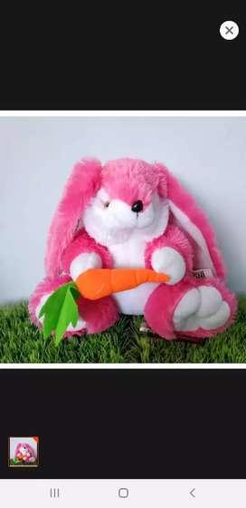 Ready stock boneka kelinci wortel terbaru murah