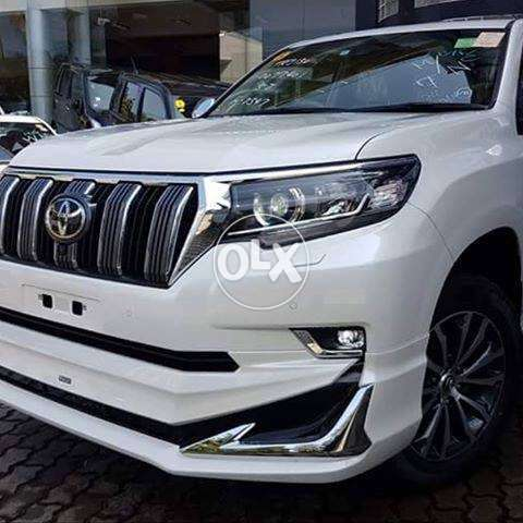 Toyota prado n V8 bodykit and full uplift available with new lights 16 0