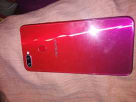 Oppo f9 with box and ,20 watt fast charger