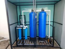 Water softener / filteration plant