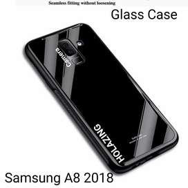 Glass Case Samsung A8 2018